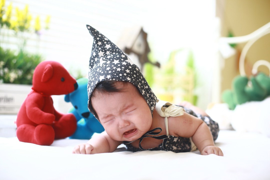 crying baby expectations vs reality
