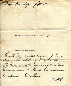 Lippiatt report Summer 1910a