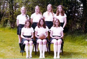 Netball in colour