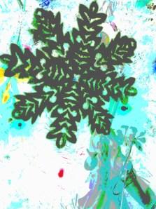 Deco Snowflake and Father Christmas