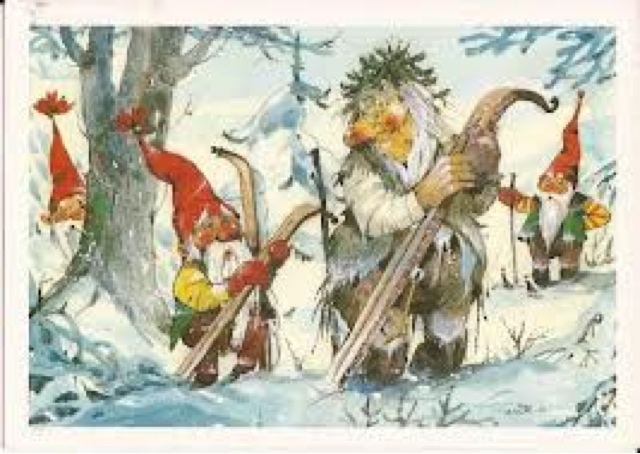 Old Norwegian Christmas Cards ThorNews