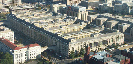 U.S. Department of Agriculture, South Building, Washington, D.C.  Image from Thornton Thomasetti