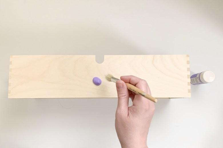Painting Ikea Storage Unit