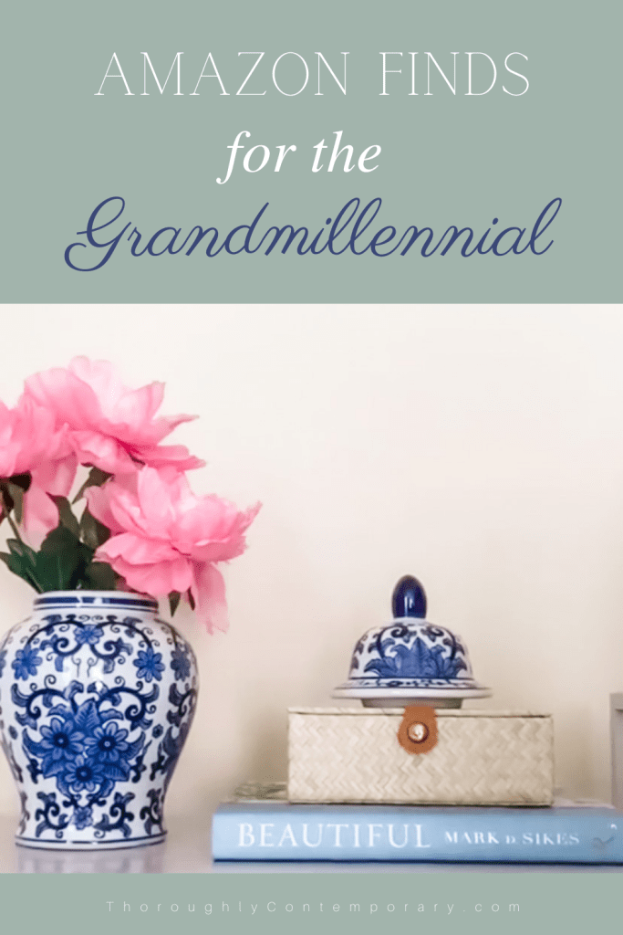 Amazon finds for the grandmillennial