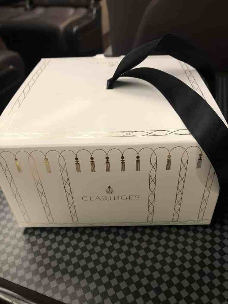 Claridge's Pastries Box