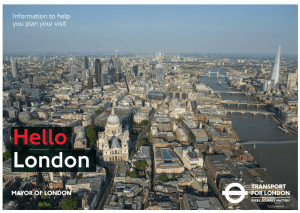 How to Get Around London on Public Transport with kids
