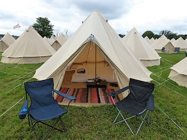 what should you take Glamping