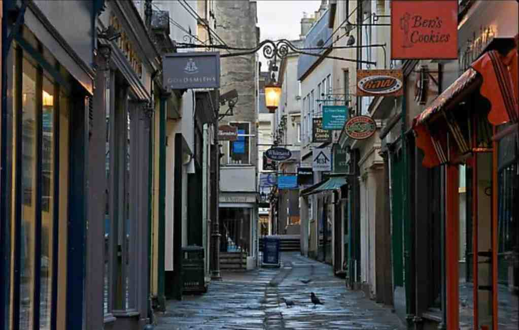 Shops in Bath by Thoroughly Modern Grandma