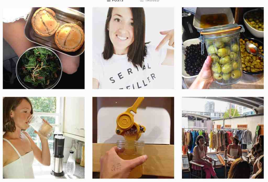 Zero Waste Instagram
