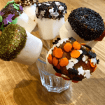 Halloween Chocolate Dipped Marshmallows