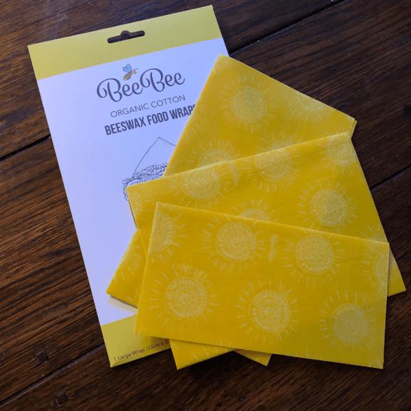 Beeswax Wraps Plastic Free