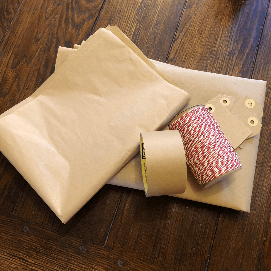 Zero Waste Friendly Christmas Wrapping