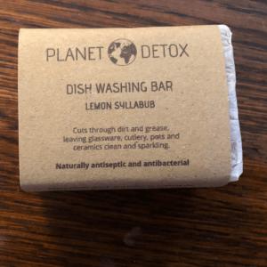 Planet Detox Natural Dish Washing Bar
