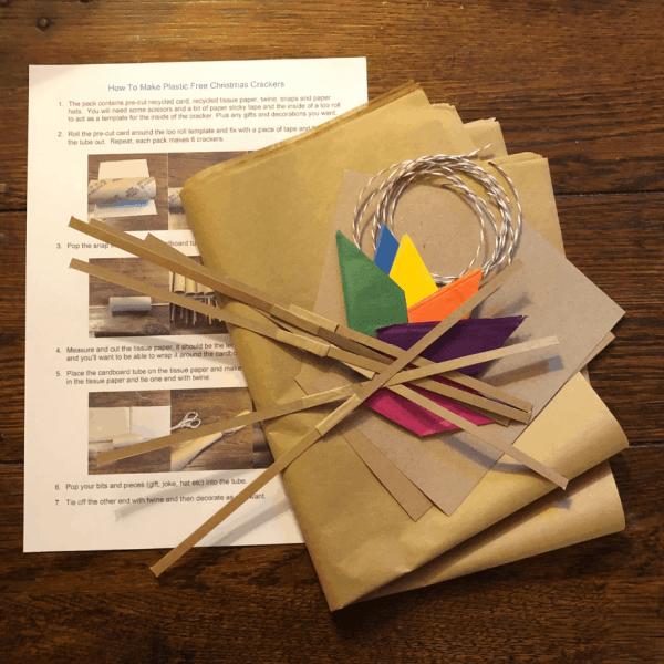 Plastic Free Christmas Cracker Kit