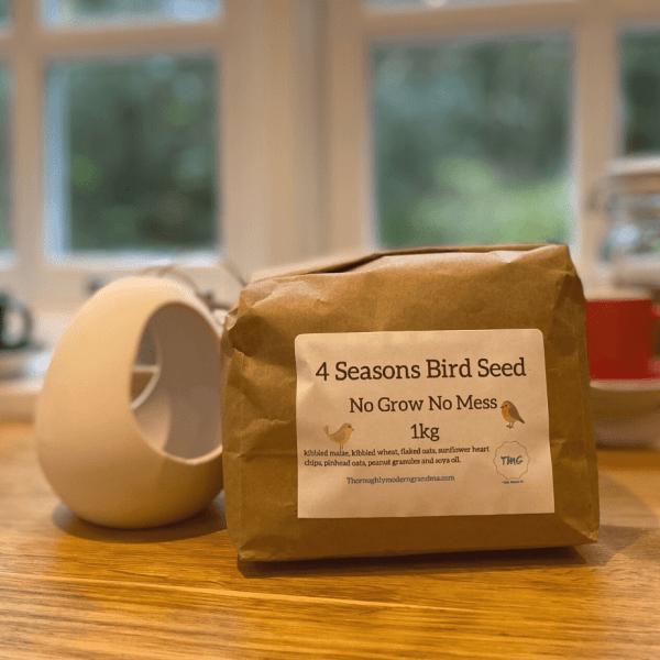 Plastic Free Bird Seed Mix