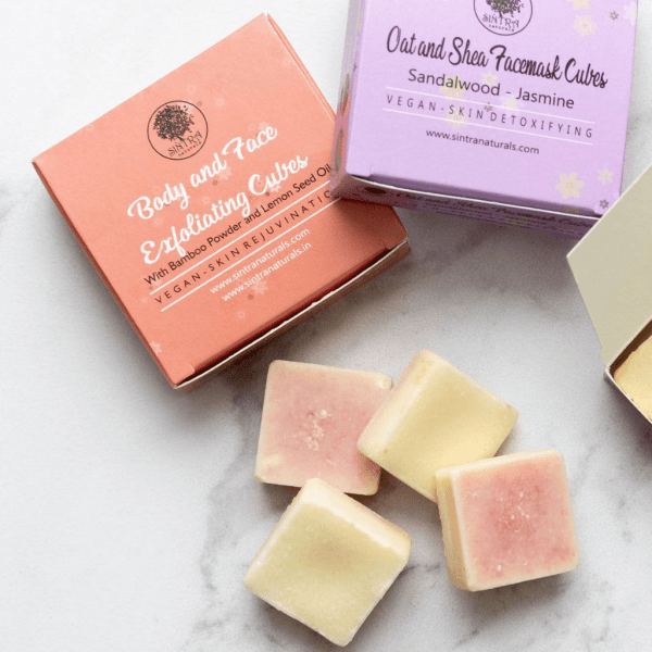 Body and Face Exfoliating Cubes