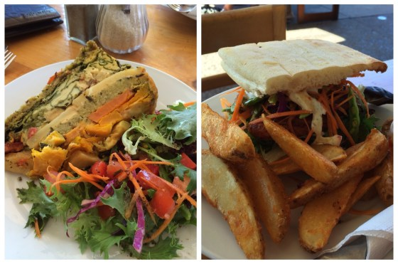 Lunch at Twisted Sista   Byron Bay