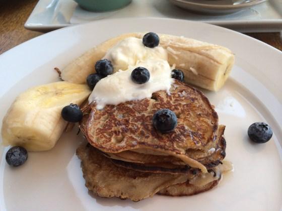 Buckwheat Pancakes at Ginger Pig   Byron Bay