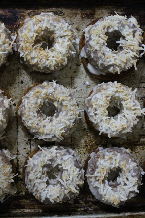Banana and Coconut Baked Doughnuts   Gluten Free   Thoroughly Nourished Life