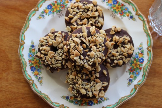Peanut Butter Doughnuts | Gluten Free | Thoroughly Nourished Life