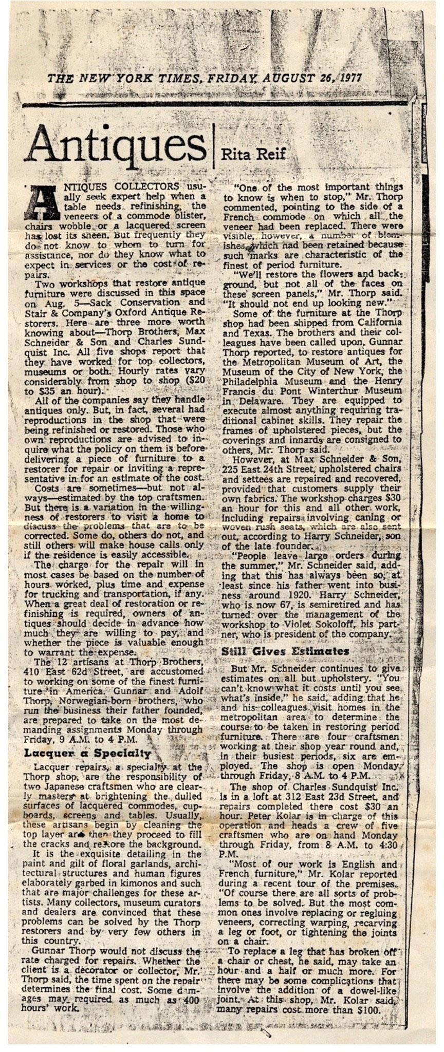 NY Times - 1977