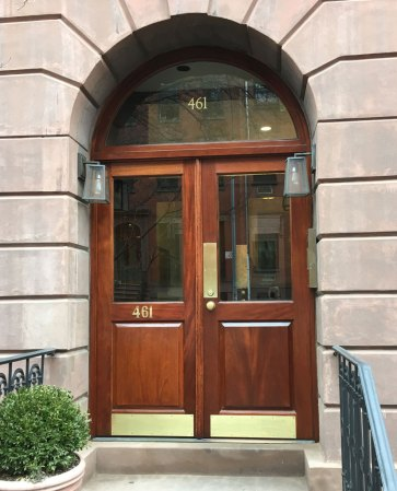 Door after restoration