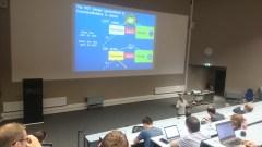 Prof. de Silva presenting