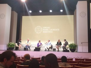Panel discussion at the Lindau meeting
