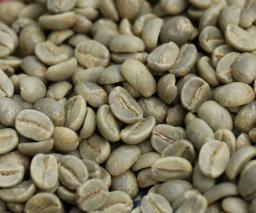 Regular green coffee beans