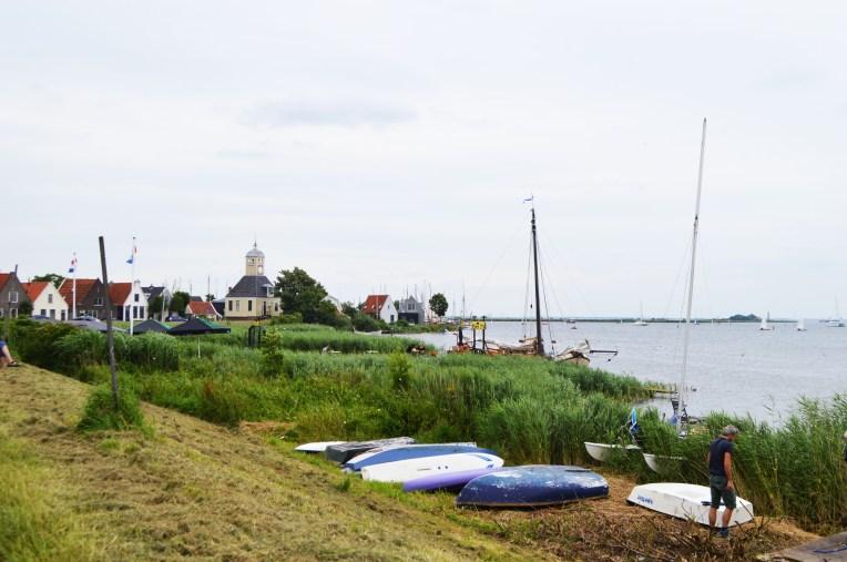 Durgerdam, a town along the way,