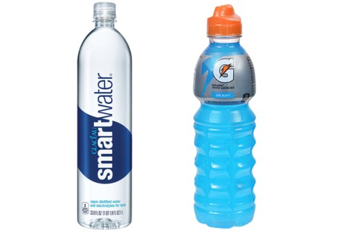Image result for gatorade, water,