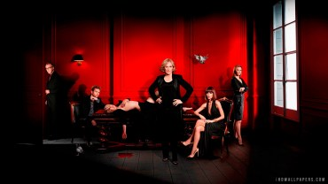tv-series-show-netflix-damages-glenn-close-rose-byrne-ted-danson-john-goodman-actors-actress-red-sexy-legs