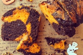 halloween-loaf-baking-bright-orange-chocolate-vegan-dairyfree-glutenfree