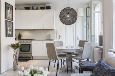 Give Your Kitchen a Scandinavian Look