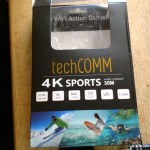 techCOMM 4K sports camera