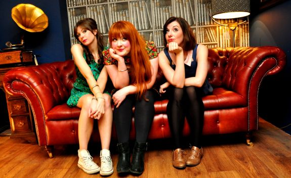 THOSE THREE GIRLS, COMEDY WRITER PERFORMERS, FUNNY WOMEN, FEMALE COMEDY, British comedy guide, sitcom mission, lucy barnett, susannah adele, carly sheppard