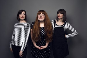 THOSE THREE GIRLS - © Matt Crockett, THOSE THREE GIRLS, COMEDY WRITER-PERFORMERS, LUCY BARNETT, CARLY SHEPPARD, SUSANNAH ADELE