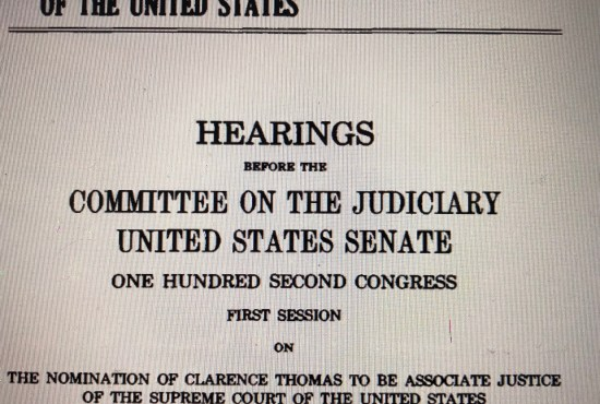 Unquestioned Integrity: the Hill-Thomas Hearings