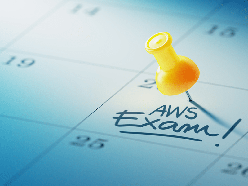 Remember to take the AWS Associate Architect exam!