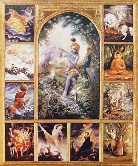 krishna-encarnações-vishnu