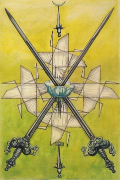 Thoth 2 of Swords