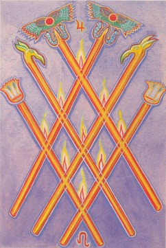 The Six of Wands