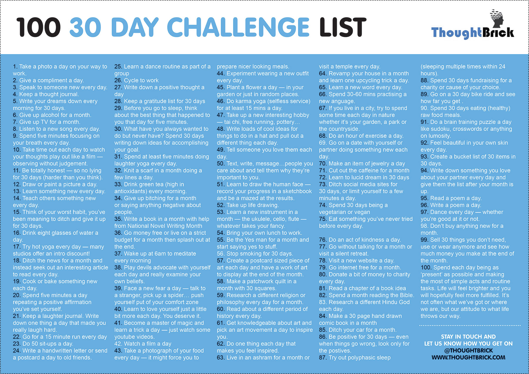100 Days To A Better You Monday 8am