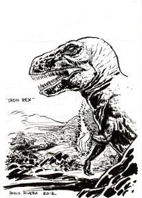 """""""Iron-Rex"""" - Paolo Rivera"""