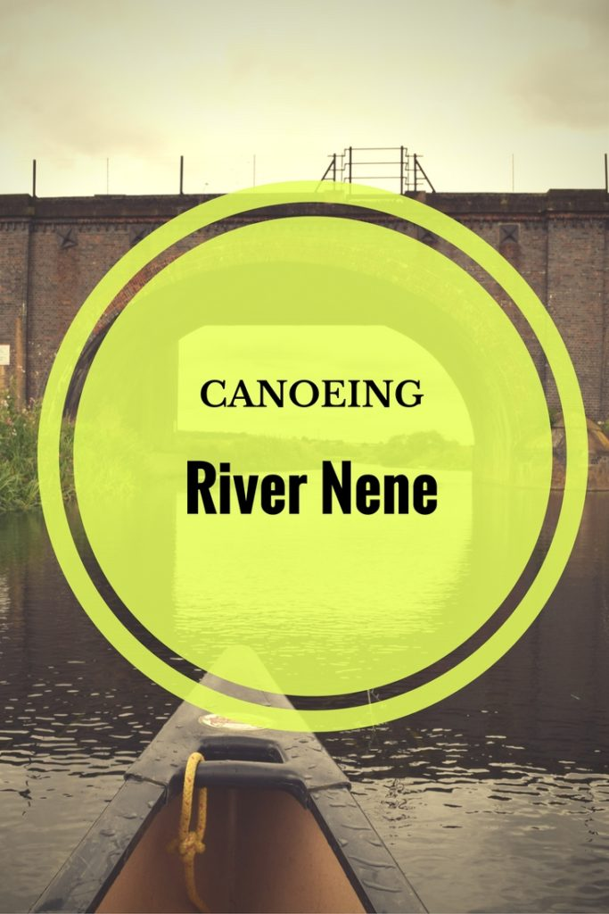 Enjoy the English countryside by canoeing down River Nene in Northamptonshire, England.