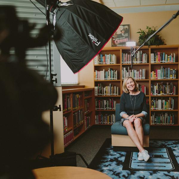 Testimonial Interview on Camera