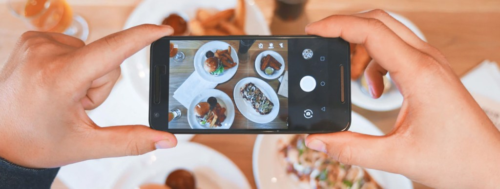 Food selfie