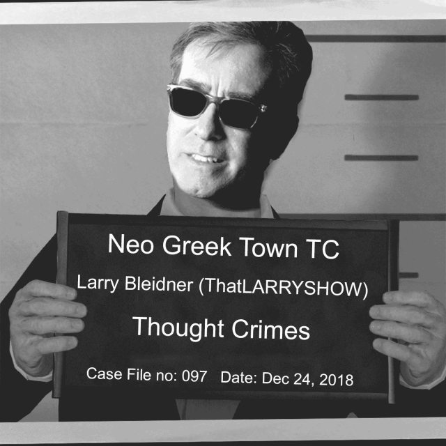 Larry Bleidner guests on episode 97 of Thought Cops podcast