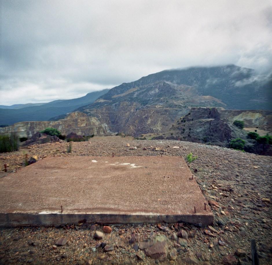 slab, Mt Lyell mine