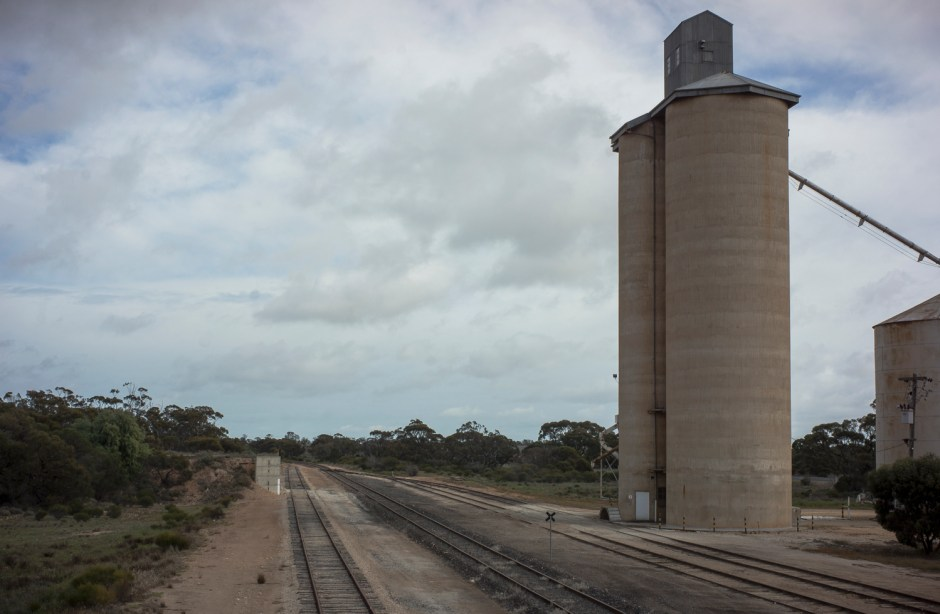 silo, Cowangie, South Australia